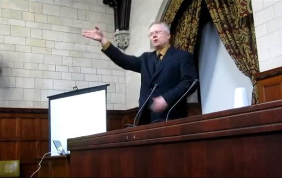 Chris Martenson no parlamento británico