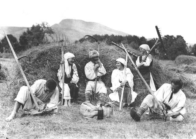Tempo da colleita en Rumanía (1920)