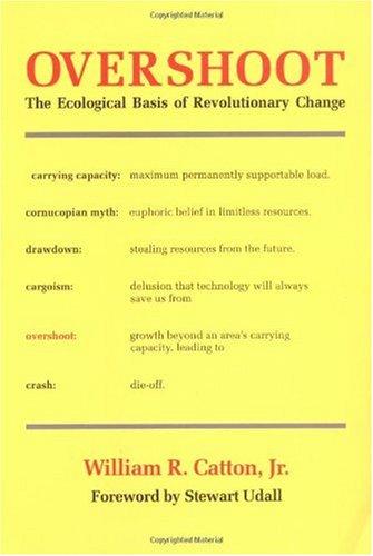 Overshoot (Extralimitación): as bases ecolóxicas dun cambio revolucionario