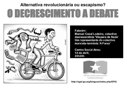 Decrecemento a debate no Atreu