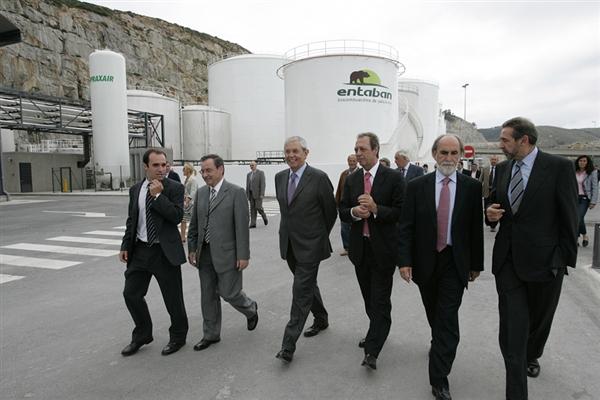 Inauguración planta biocombustibles ferrol