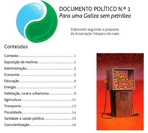 Partido da Terra: para uma Galiza sem petróleo