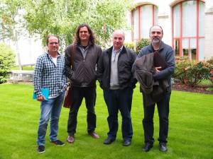 Véspera de Nada reúnese co deputado de AGE Antón Sánchez para tratar sobre o Teito do petróleo