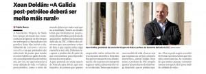 O Teito do Petróleo en La Voz de Galicia, co gallo da publicación da nosa Guía