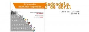 Presentamos en Redondela a «Guía para o descenso enerxético» (3 de abril)