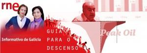 O «Peak Oil» en Radio Nacional de España, co gallo da «Guía para o descenso enerxético»