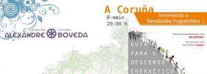 Presentamos na Coruña a «Guía para o descenso enerxético» neste xoves 8 de maio