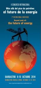 Xoán Doldán participará no II Congreso Internacional 'Más allá del pico del petróleo: el futuro de la energía'