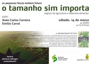 """Presentación do libro """"O pequeno é grande"""" escrito por Xoan Carlos Carreira e Emilio Carral"""