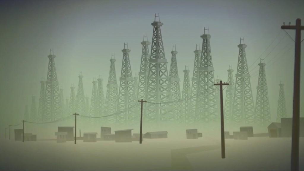 Fotograma da película de animación 'Non hai mañá' (Dermot O'Connor)