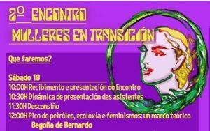 O «Peak Oil» estará de novo presente no II Encontro Mulleres en Transición (Vilasantar, 18-19 de xuño)