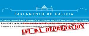 Bota a andar a resposta social contra a «Lei de Depredación de Galiza»