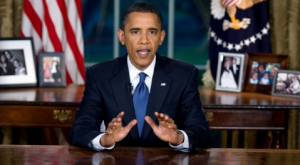 O presidente dos EUA recoñece a adición ao petróleo e a súa finitude e chama por unha transición ás enerxías 'limpas'