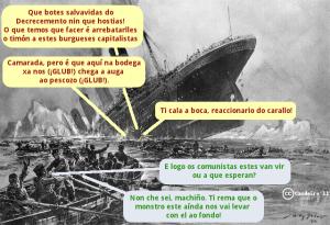 Membros de Véspera de Nada contestan ao Ateneu Proletário Galego a conta do Decrecemento