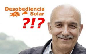 """""""Desobediencia"""" solar? Unha crítica de Pedro Prieto"""