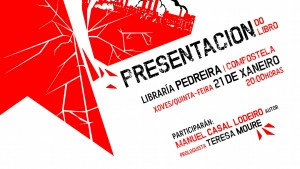 """Xoves 21 de xaneiro: presentamos o libro """"A esquerda ante o colapso da civilización industrial"""" en Compostela"""