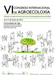 VI Congreso Internacional de Agroecoloxía en Vigo, 16 e 17 de Xuño