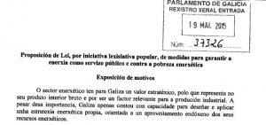 Xoán Doldán fala no Parlamento de Galicia sobre Peak Oil e a necesidade de decrecer no consumo enerxético