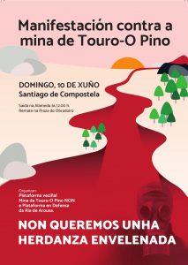 Véspera de Nada únese á manifestación nacional deste 10 de xuño contra a mina en Touro/O Pino