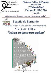 Presentamos a edición en castelán da Guía en Palencia (21-Feb)